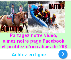 rabais equitation rafting